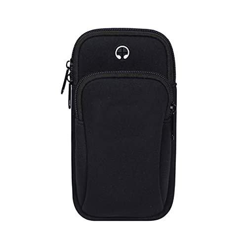 bolso deportivo Funda de brazalete deportiva para X 8 7 Muñeca impermeable universal Running Brazo deportivo Banda con titular de llave para Xiaomi Teléfono de 6 pulgadas Amplia gama de aplicaciones d