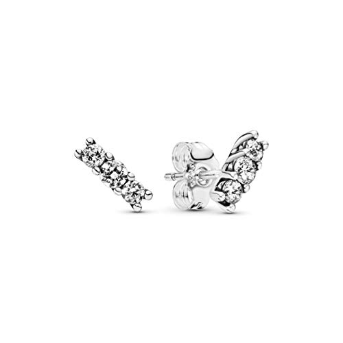 Pandora Women Silver Stud Earrings - 290725CZ