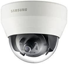 Samsung 1080p HD-SDI True Day/Night Compact WDR Dome Security Surveillance Outdoor Camera w/ 3.8mm Fixed Lens Ivory SCD-6021 for for Home, Commercial Building