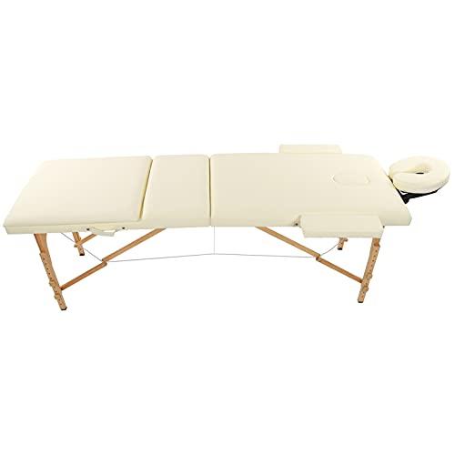 Wakects Table de Massage, Longue durée de Vie du lit de Spa pour Accessoire de Spa