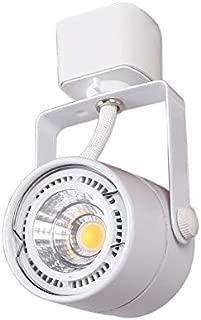 KING SHA LED Track Light Head,75 Watt Equal,CRI 90,3000K,Adjustable Tilt Angle Track Lighting Fixture,24Deg for Accent Retail,Halo Type