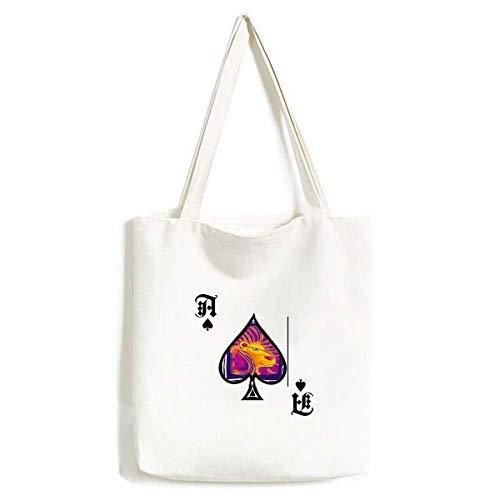 Handtasche, Motiv: Sternbild Löwe, mexikonische Gravur, waschbar
