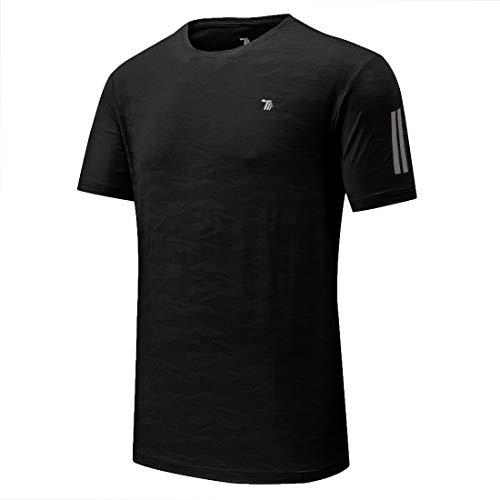 donhobo Mens Sport T Shirts Fast Dry Moisture Wicking...