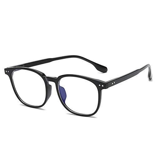 Bias&Belief Gafas de Bloqueo de luz Azul Gafas para Juegos de computadora Montura de anteojos Ultraligera Gafas Anti-Fatiga Ocular para Mujeres y Hombres,A