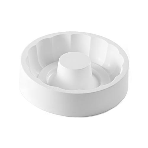 Silikomart Professional Paradise Silicone Ring Mold with Top Groove