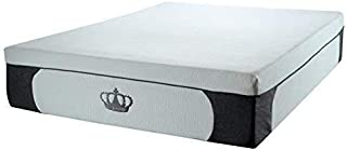 DynastyMattress New! 14.5-Inch CoolBreeze Plush Gel Memory Foam Mattress w/Free Pillows (King)