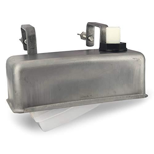 Einhänge-Schwimmerventil 1/2 Zoll mit Außengewinde/Schwimmer mit Edelstahlgehäuse mit Außengewinde für Tränke, Weidentränke, Viehtränke, Wassertank, Tränke für Tiere