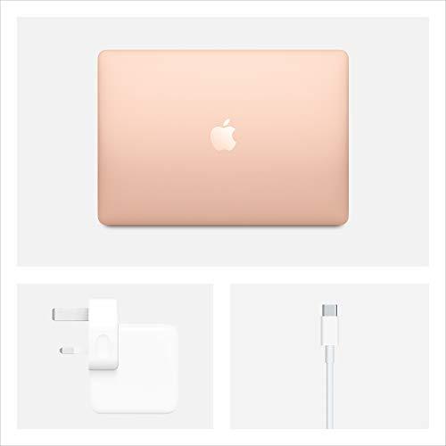 2020 Apple MacBook Air (13.3-inch/33.78 cm, 1.1GHz Quad-core 10th-Generation IntelCorei5 Processor, 8GB RAM, 512GB Storage) - Gold