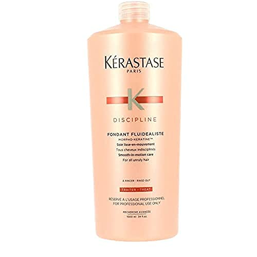 Kerastase - Gamme Discipline - Fondant Fluidéaliste après-shampooing soin lisse-en-mouvement, Fluidité, Brillance et Anti-Frizz pour cheveux normaux à sensibilisés - 1000 ml