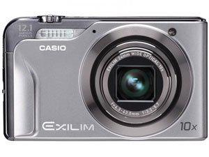 Casio EXILIM Hi-Zoom EX-H10 Kompaktkamera 12,1 MP 1/2.3 Zoll CCD 4000 x 3000 Pixel Silber - Digitalkameras (12,1 MP, 4000 x 3000 Pixel, CCD, 10x, HD, Silber)