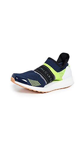 adidas by Stella McCartney Women's Ultraboost X 3D Sneakers, Night Indigo/Green/Granite, 7 Medium US