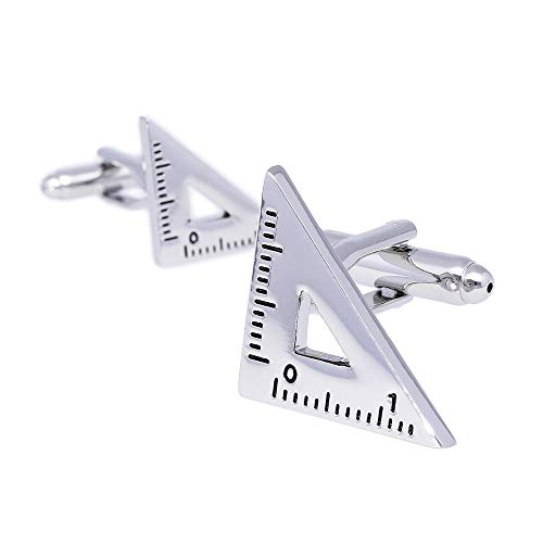 HAVILAH MODE 素敵なカフス 三角定規 カフスボタン cufflinks【カフス B-4】メンズ おしゃれ かわいい ビジネス 結婚式 プレゼント 父の日 誕生日