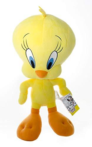YuMe maxx11603 Pie Plüschfigur Looney Tunes-Tweety, ca. 30 cm, gelb