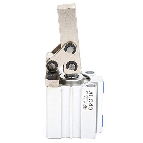 Cilindro neumático de cilindro de aire de vástago de pistón de doble efecto M5 para equipo neumático(ALC40 without magnetic)