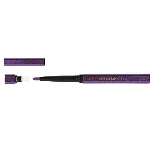 5x P2 Perfect Look Kajal Waterproof incl. Anspitzer Nr. 170 violet Automatic Eyepencil Kajal für strahlend schöne Augen.