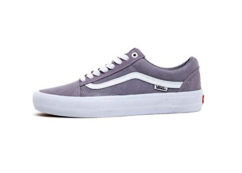 Vans Men's Old Skool Pro Gray True White Shoes VN0A45JCSXF (Numeric_6)