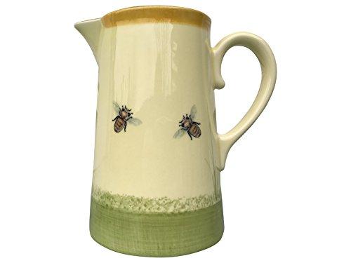 Zeller de cruche en céramique motif abeille