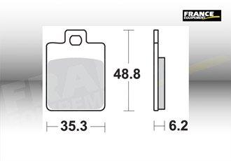 PASTILLAS DE FRENO DELANTERO AP RACING PEUGEOT TWEET 125 2010
