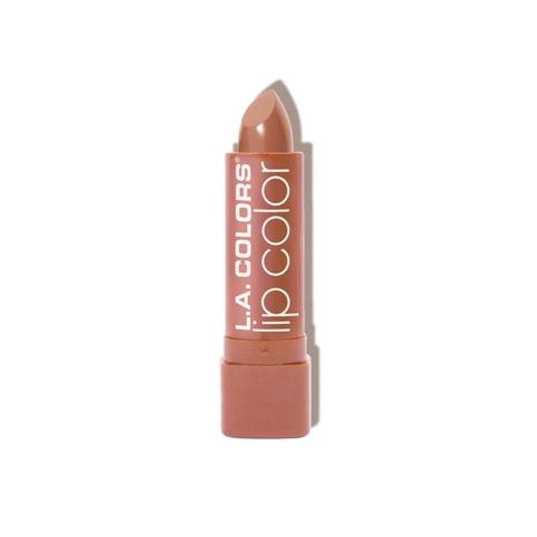礼儀まろやかなバング(6 Pack) L.A. COLORS Moisture Rich Lip Color - In The Buff (並行輸入品)