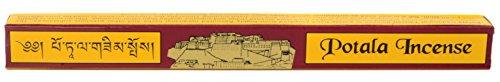 BUDDHAFIGUREN/Billy Held Potala - Varillas de Incienso Tibetano (24 Unidades, 27 cm)