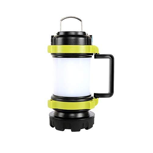 HKFAVNW Multifuncional de Alta Potencia Que acampan llevó Las Luces,USB Recargables Impermeables al Aire Libre Linterna de luz de Emergencia