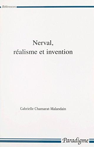 Nerval, réalisme et invention (Références) (French Edition)