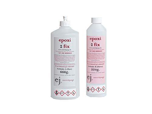 epoxi 2 fix 1kg-Set, Epoxidharz, Giessharz, Rissharz, Laminierharz