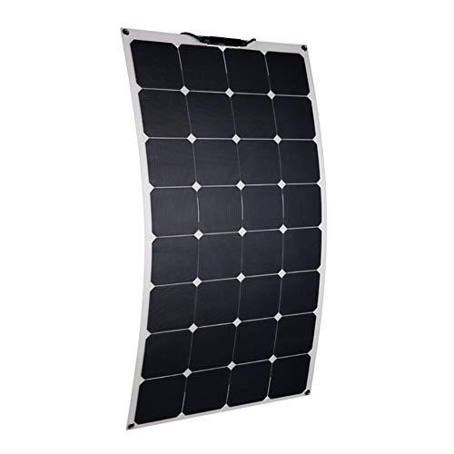 JAYLONG 100W Flexible Solarpaneele, 12V/24V Sicherheits-Solarladegeräte, Geeignet Für Dächer, Outdoor Und Autos, 10 Jahre Lebensdauer