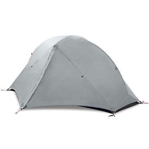 Tienda de campaña 3/4 temporada 1 solo profesional 15D nylon silicio tienda Barracas para camping