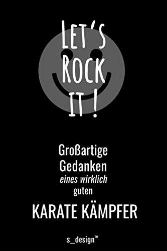 Notizbuch für Karate Kämpfer: Originelle Geschenk-Idee [120 Seiten liniertes blanko Papier]