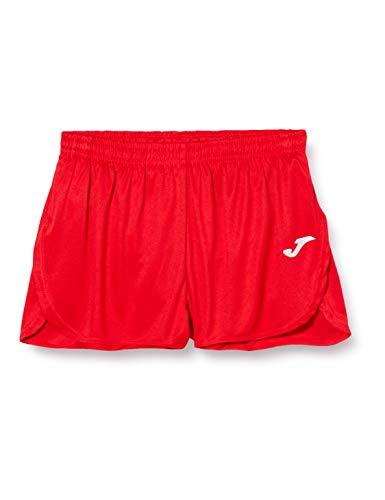 Joma Record Pantalones Cortos, Niños, Rojo, XS