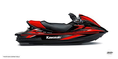 Kit Deco Jet Ski Kawasaki STX 15F Shine Rosso
