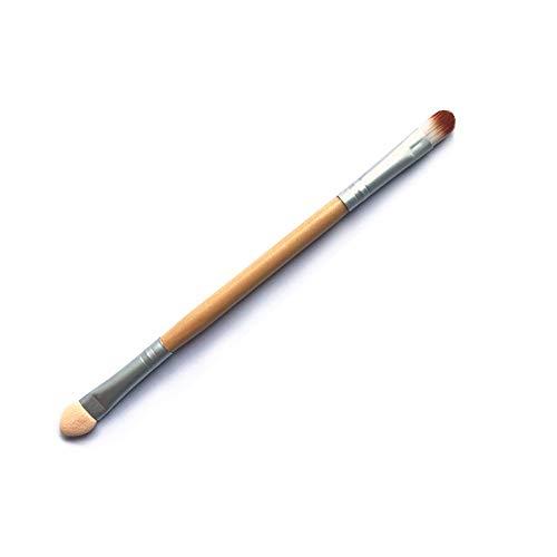 Drametree Doble Sombra de Ojos Cepillo Sombra de Ojos Stick Un Pincel Corrector portátil Pintura Sombra de Ojos Stick de Esponja Herramienta de Pincel de Maquillaje Un Pincel de Maquillaje Compacto y