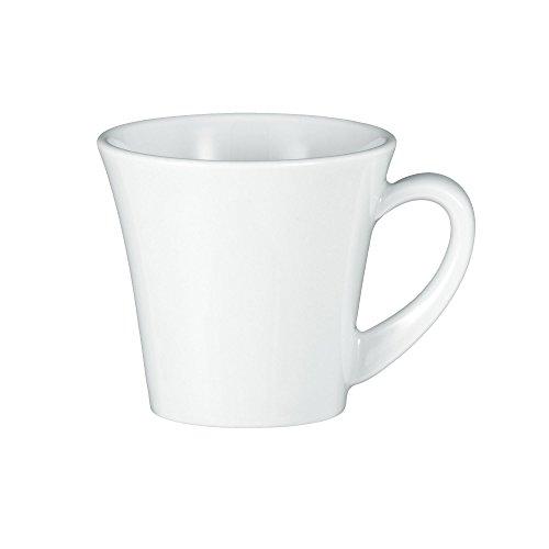 Seltmann Weiden Obere zur Espressotasse 5241 0,09 l 6 Stück Paso Weiss Uni 00003