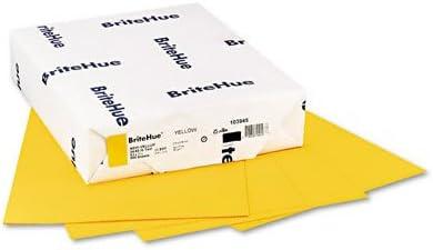 Mohawk - Brite-Hue Color Indefinitely Copy Inkjet Paper Yellow Laser Discount mail order 24lb