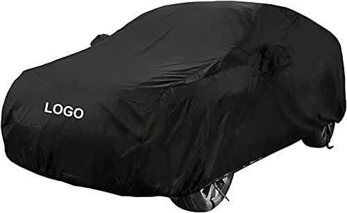Autoabdeckung für Nissan Qashqai SUV, Wasserdicht Winddicht Staubdicht Kratzfest UV-Schutz Autoplanen Garagen SchutzhüLle