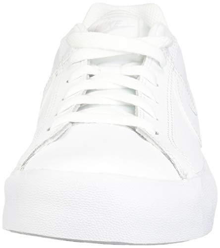 Nike Court Royale AC, Zapatillas de Tenis Hombre, Multicolor (White/White/Vast Grey/Gum Light Brown 000), 43 EU