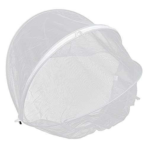 STOBOK Mosquitero para cochecito de bebé, color gris, malla transpirable, mosquitero, mosquitero, para asiento de coche de bebé