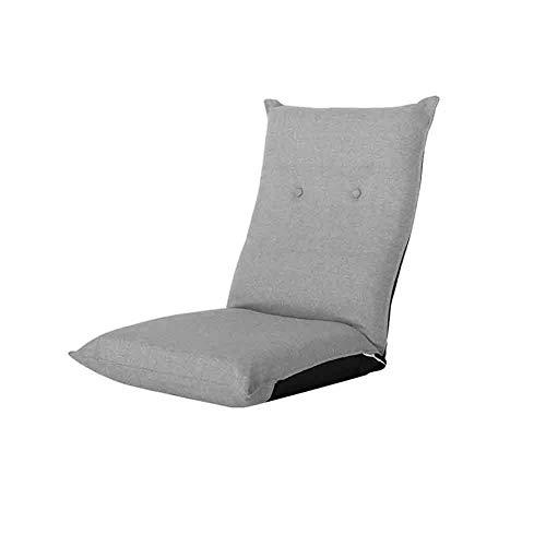 Zonnige opvouwbare relaxbank lounge bank, balkon ligstoel, katoen en linnen kussen 14 versnelling aanpassing