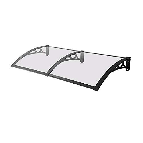 LIUSHENGFUBH - Tenda da sole per porta, tenda da sole, per esterni, finestra, veranda, cortile, protezione UV, pioggia e neve, dimensioni: 80 x 240 cm