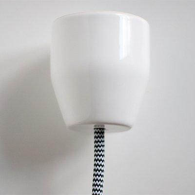 Rosace PURE Porcelaine - plafonnier