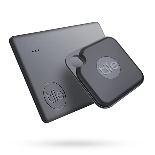 Tile Performance Pack (2020) 2-pack (1 Pro, 1 Slim) - Bluetooth Tracker, Item Locator & Finder for Keys and Wallets or Luggage and Tablets; Easily Find All Your Things