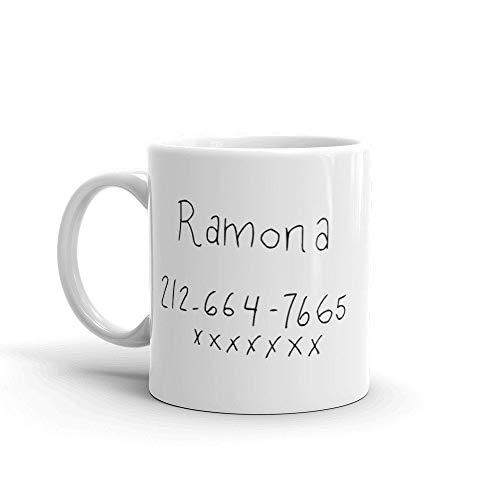Wow Girl Number Coffee Mug - Ramona Flowers - Scott Pilgrim...
