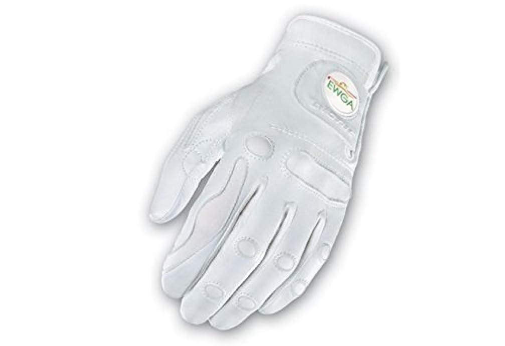 左力雷雨Bionic手袋ggzwlxl PerformanceGripとボールマーカーWomens左ゴルフグローブ、ホワイト?–?XL
