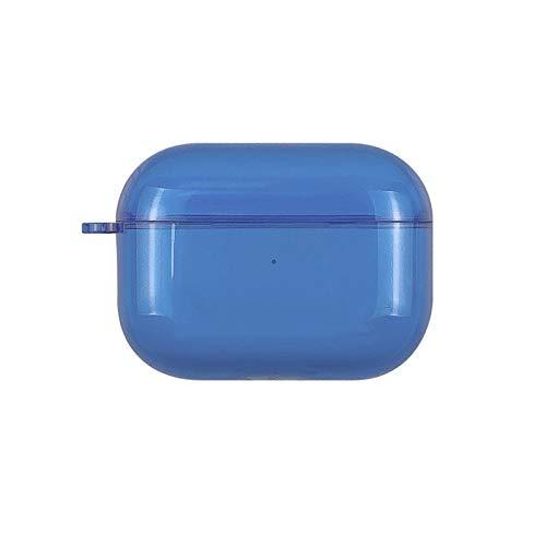 SHUOHAO Adecuado para AIPORDS Pro Auriculares Conjunto PC Color Transparente 1/2/3 Generación Auriculares Bluetooth Color de Caramelo Simple Cáscara Protectora (Color : 5)