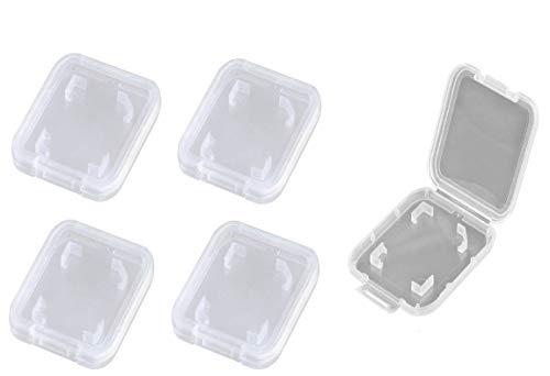 ikarex-shop Hüllen für SD Karten ( 5 oder 10 Stück) Set Speicherkarte Hülle Case Box Aufbewahrungsbox Speicherkartenhüllen Schutzhülle 5X 10x (5X SD Hülle)