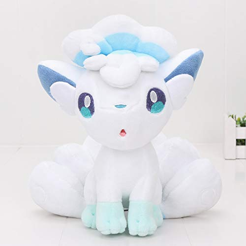 YDGHD 20cm Zut-Puppe Alola Vulpix Plush Toy Stuffed Plush Animal Doll Geschenke Für Kinder