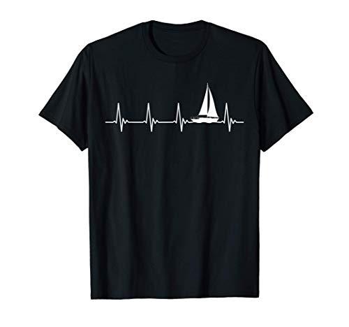 Segeln Segler Segelboot Katamaran Besitzer Skipper Geschenk T-Shirt