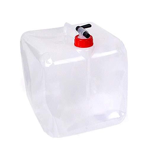 ZONSUSE cjixnji Cubo de Agua Plegable, 20L de Agua Plegable al Aire...