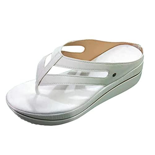 Claquette D'éTé pour Femme Tongs Chaussures Plates...
